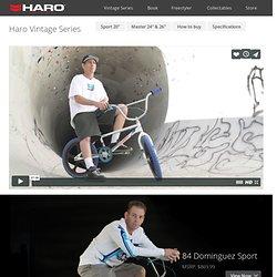 Haro Bikes - Vintage Series