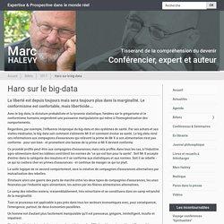 Haro sur le big-data