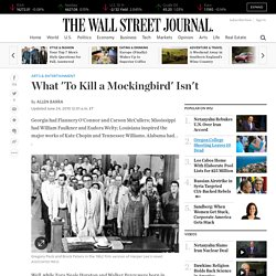 Harper Lee's To Kill a Mockingbird, and What It Isn't