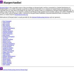 HarperAudio!