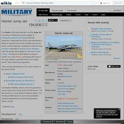 Harrier Jump Jet - Military Wiki
