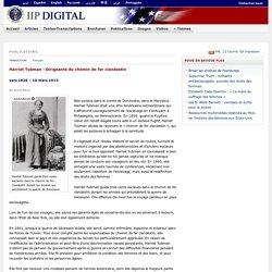 Harriet Tubman : Dirigeante du chemin de fer clandestin