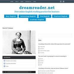 Harriet Tubman - DreamreaderDreamreader