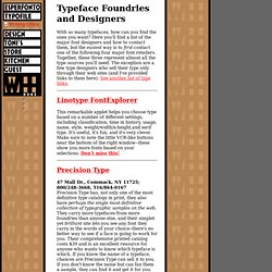 House TypeFoundries