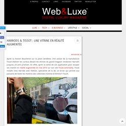 Harrods & Tissot : Une vitrine en réalité augmentée