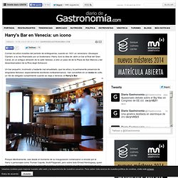 Harry's Bar en Venecia: un icono
