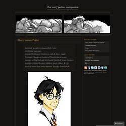 Harry James Potter & The Harry Potter Companion