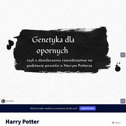 Harry Potter by afejfer on Genially