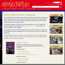 Harry Potter at Home: Readings