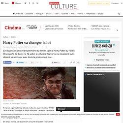 Harry Potter va changer la loi