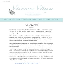 HARRY POTTER – Maîtresse Mégane