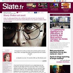 Harry Potter est mort