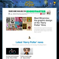 Harry Potter Fan Zone - J.K. Rowling 'Fan Site Award' winner