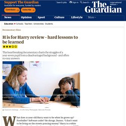 H is for Harry review – hard lessons to be learned