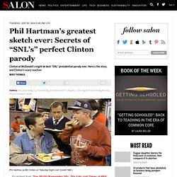 "Phil Hartman's greatest sketch ever: Secrets of ""SNL's"" perfect Clinton parody"