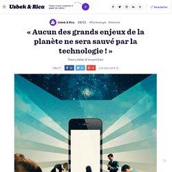 Hartmut Rosa : notre relation avec les technologies