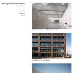hartwig schneider architekten – Bauten