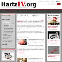 Mehrbedarf bei Hartz IV