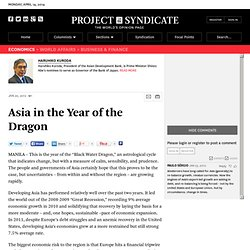 Asia in the Year of the Dragon - Haruhiko Kuroda