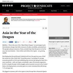 Asia in the Year of the Dragon - Haruhiko Kuroda