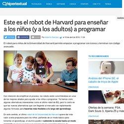 Este es el robot de Harvard para aprender a programar