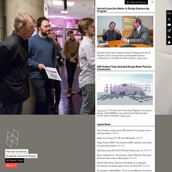 Graduate School of Design - Harvard University - Homepage