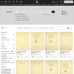 Harvard Classics Digitized