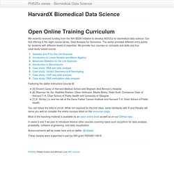 HarvardX Biomedical Data Science