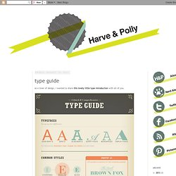 type guide