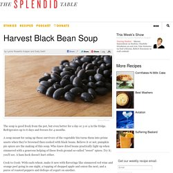 Harvest Black Bean Soup