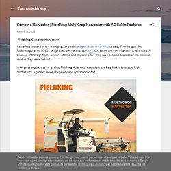 Fieldking Multi Crop Harvester with AC Cabin Features