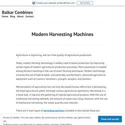 Get The Top Combine Harvester Manufacturer – Balkar Combines