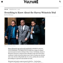 Harvey Weinstein Case: Everything to Know