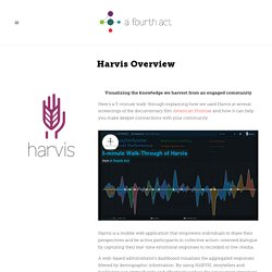Harvis Overview — A Fourth Act