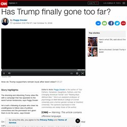 Has Trump finally gone too far? (Opinion) - CNN.com