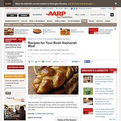 Rosh Hashanah Recipes, Kosher Cooking, Jewish Menu, New Year Feast