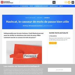 Hashcat, le casseur de mots de passe bien utile