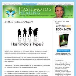 Life with Hashimoto's - Hashimotos Healing