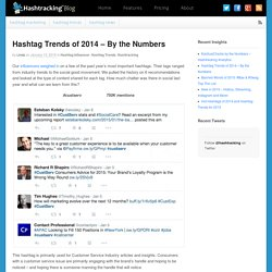 Hashtag Trends of 2014 - By the Numbers - The Hashtracking Blog