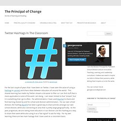 Twitter Hashtags In The Classroom