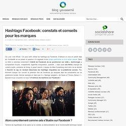 Hashtags Facebook: constats et conseils pour les marques