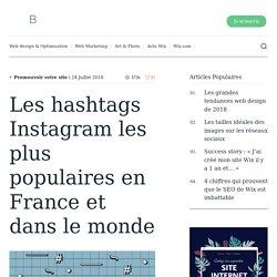 Les hashtags Instagram les plus populaires en France et dans le monde