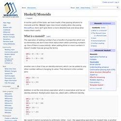 Haskell/Monoids