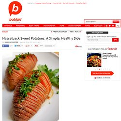 Hasselback Sweet Potatoes: A Surprsing Sweet Potato Recipe
