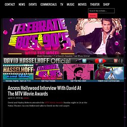 David Hasselhoff Online - Everything David To Hoffinity & Beyond