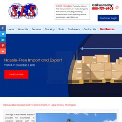 Hassle-Free Import and Export
