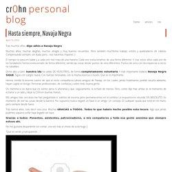 Hasta siempre, Navaja Negra - cr0hn.com