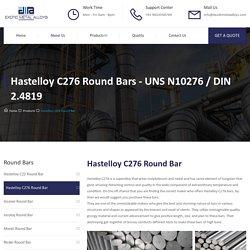 Hastelloy C276 Round Bar - Exotic Metal Alloys