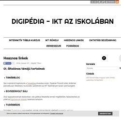 Hasznos linkek - Digipédia - IKT az iskolában
