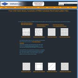 Free Autodesk Revit Hatch Patterns
